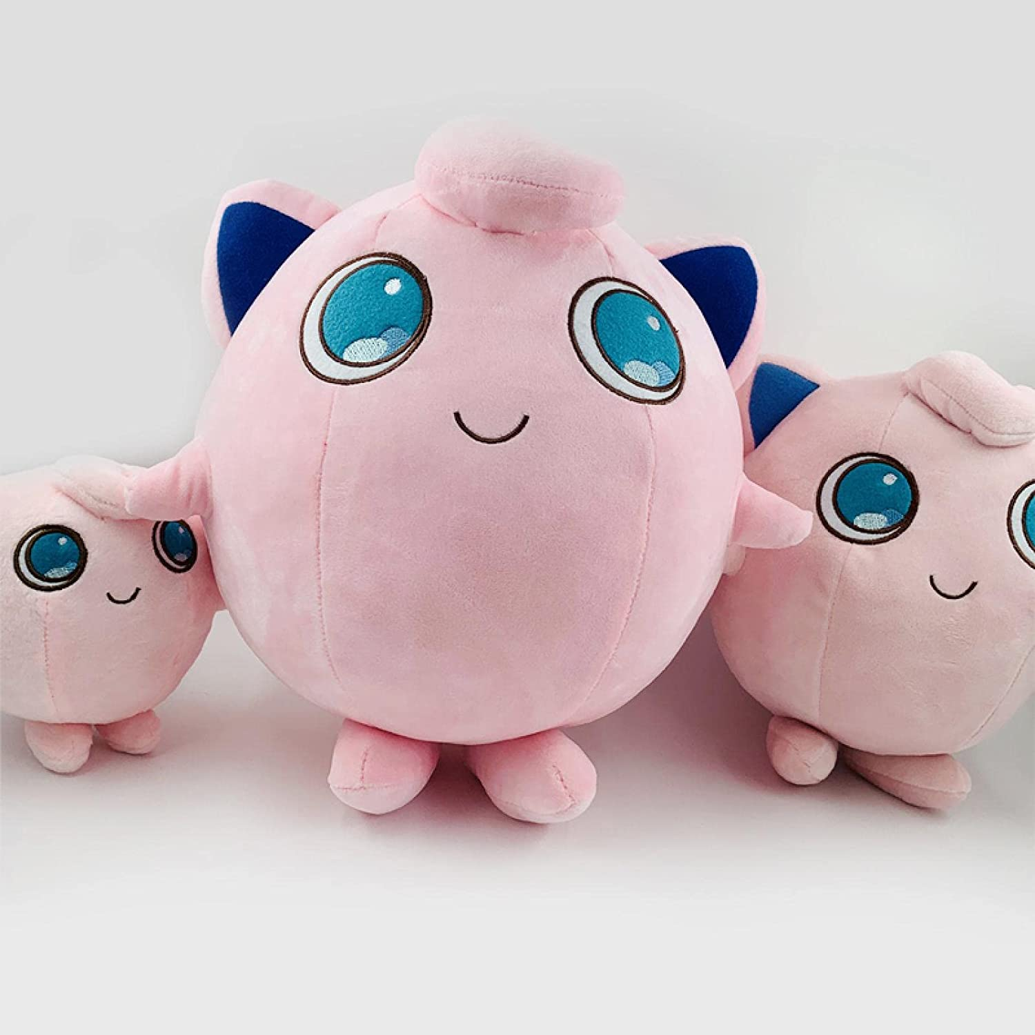 3pcs Pokemon Jigglypuff Anime Soft Plush Chi Cute Max 47% OFF Excellence Toys Gifts for