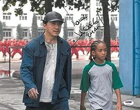 Jackie Chan Signed Authentic Autographed 11x14 Photo (PSA/DNA)