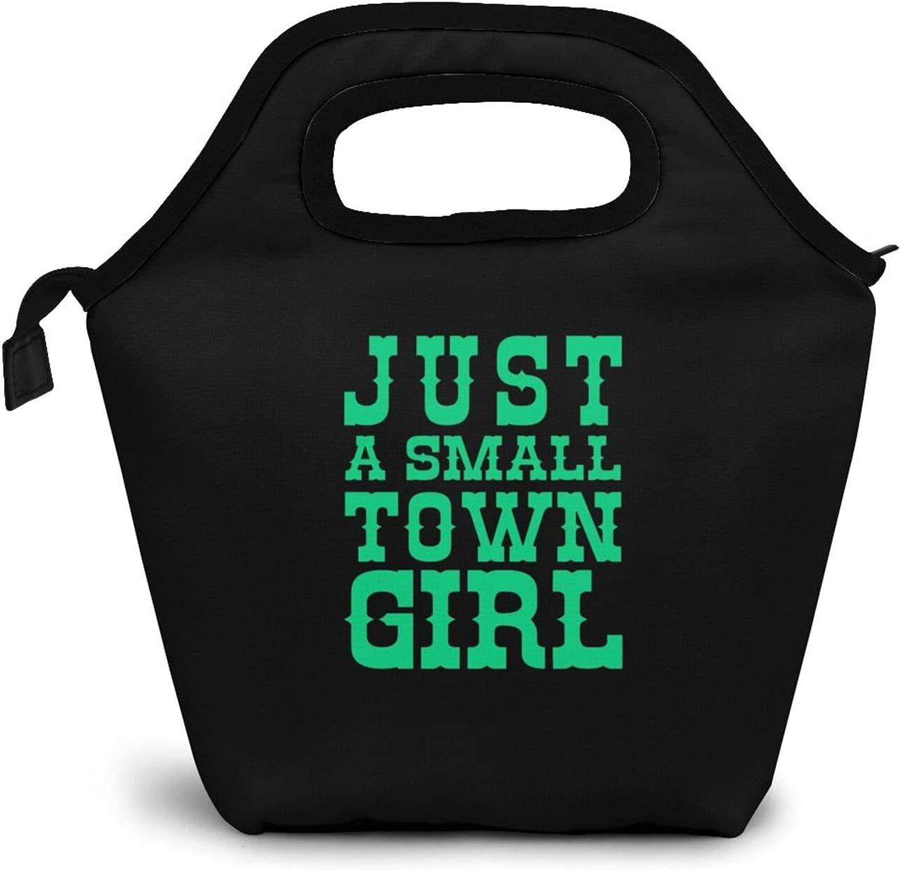 Just a Small Town GirlLunch Bag Box Ranking TOP19 L unisex Waterproof Insulated Lunch