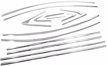 eRushAutoparts Ultra Chrome Window Trims For 2009-2014 Chevrolet Cruze