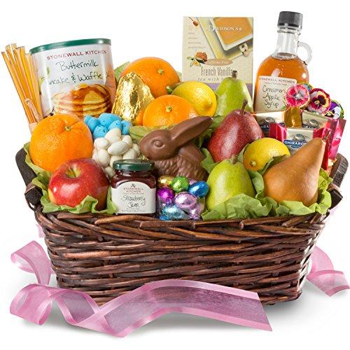 A Gift Inside Family 27 piece set, Easter Brunch Basket, 1 Count