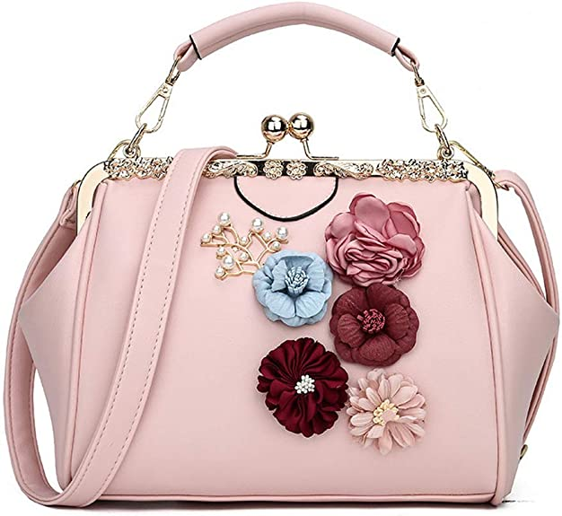 1950s Handbags, Purses, and Evening Bag Styles Donalworld Women Retro Hollow out PU Leather Handbag  AT vintagedancer.com