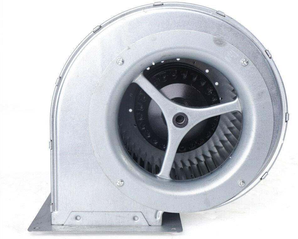 Futchoy - Extractor de aire industrial radial, 840 m3/h, ventilador centrífugo de aspiración, ventilador centrífugo con doble entrada, diámetro 146 mm