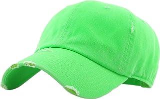 54f1eef606d KBETHOS Vintage Washed Distressed Cotton Dad Hat Baseball Cap Adjustable  Polo Trucker Unisex Style Headwear