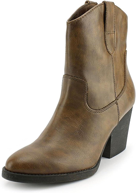 Madden Girl Ramz Women US 9.5 Brown Western Boot