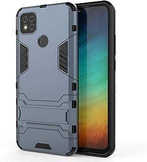 携帯電話保護ケース for Xiaomi Redmi 9C PC + TPU耐衝撃保護ケースホルダー 携帯電話シェル