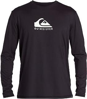 Men's Solid Streak Ls Long Sleeve Rashguard Surf Shirt