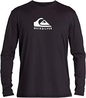 Men's Solid Streak Ls Long Sleeve Rashguard Surf Shirt