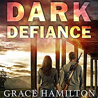 Dark Defiance audiobook cover art