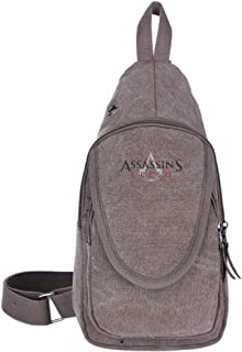 Assassin's Creed Logo Movie Unisex Sports Backpack Crossbody Sling Shoulder Chest Bags