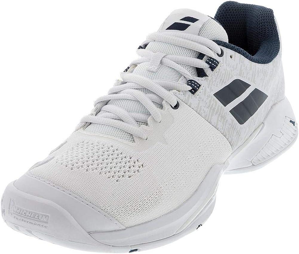 Babolat Propulse Blast Men's NEW Tennis Los Angeles Mall White Shoes Blue Estate
