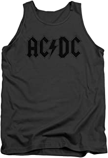 Mens AC/DC Tank Top Logo Tanktop