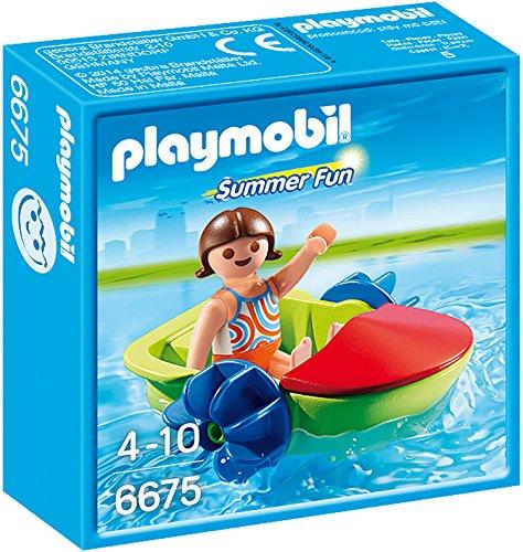 PLAYMOBIL Summer Fun 6675 Fun-Boot, Ab 4 Jahren