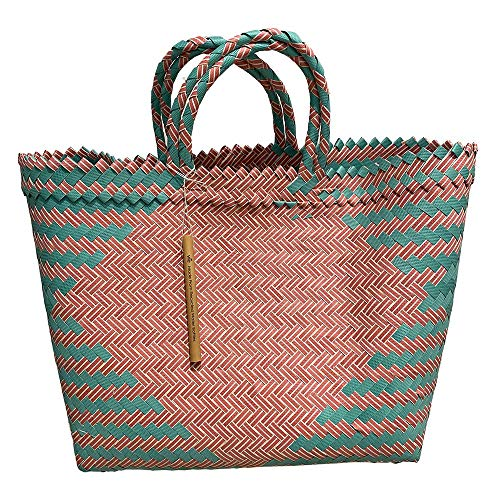 VIE Playa/Bolsa de Mano, Multicolor, Grande