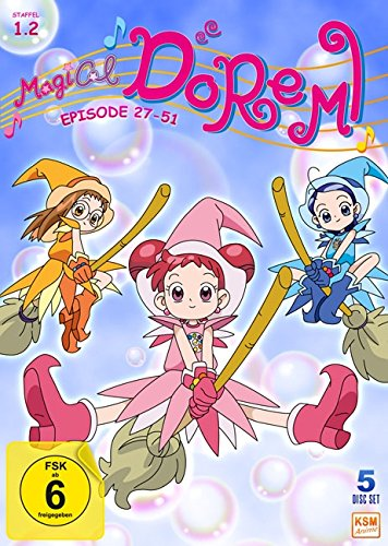 Magical Doremi: Staffel 1.2 (Episode 27-51) (5 Disc Set)