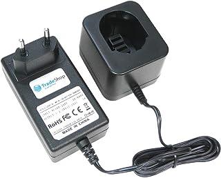Trade-Shop universal batteriladdare (1,2 V – 18 V Ni-MH Ni-Cd) snabbladdare för DEWALT DE9075 DE9274 DW9071 DW9074 246536 ...