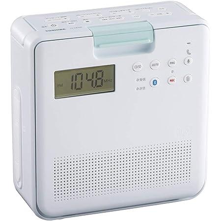 東芝 防水CDラジオ(ホワイト)TOSHIBA TY-CB100-W