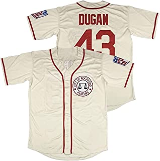 nobrand Horlohawk Men's 43 Jimmy Dugan City of Rockford Peaches A League of Their Own Movie Baseball Jersey Stitched