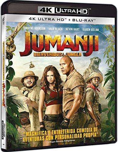 Jumanji: Bienvenidos A La Jungla (4K UHD + BD) [Blu-ray]
