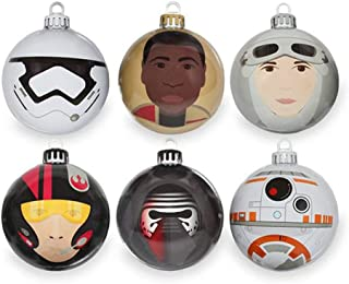 Numskull Official Star Wars Force Awakens Baubles, Christmas Tree Decorations