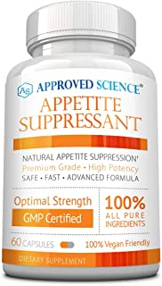 Approved Science® Appetite Suppressant - Increase Satiety, Help Reduce Cravings, Regulate Blood Sugar - Gymnema Sylvestre,...