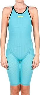 Arena Women's Powerskin Carbon Flex Vx Swim Suit-Open Back, Turquoise/Black, 26