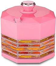 MissZZ Déshydrateur Alimentaire Déshydrateur Alimentaire Déshydrateur à température réglable à 5 Plateaux pour séchoir à A...