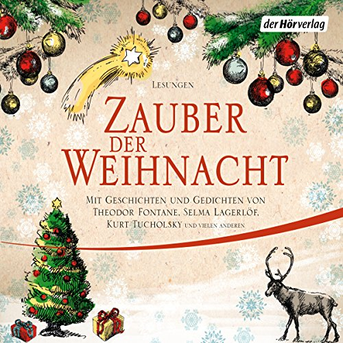 Zauber der Weihnacht                   By:                                                                                                                                 Wilhelm Busch,                                                                                        Theodor Fontane,                                                                                        Selma Lagerlöf,                   and others                          Narrated by:                                                                                                                                 Suzanne von Borsody,                                                                                        Gert Heidenreich,                                                                                        Beate Himmelstoß,                   and others                 Length: 4 hrs and 55 mins     Not rated yet     Overall 0.0