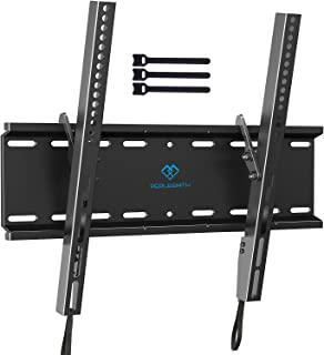 Tilting TV Wall Mount Bracket Low Profile for Most 23-55 Inch LED, LCD, OLED, Plasma Flat Screen TVs with VESA 400x400mm W...