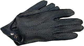 DENTS(デンツ) 15-1043 [ NAVY/ネイビー ] ペッカリー (猪豚革) レザーグローブ(革手袋) [並行輸入品]