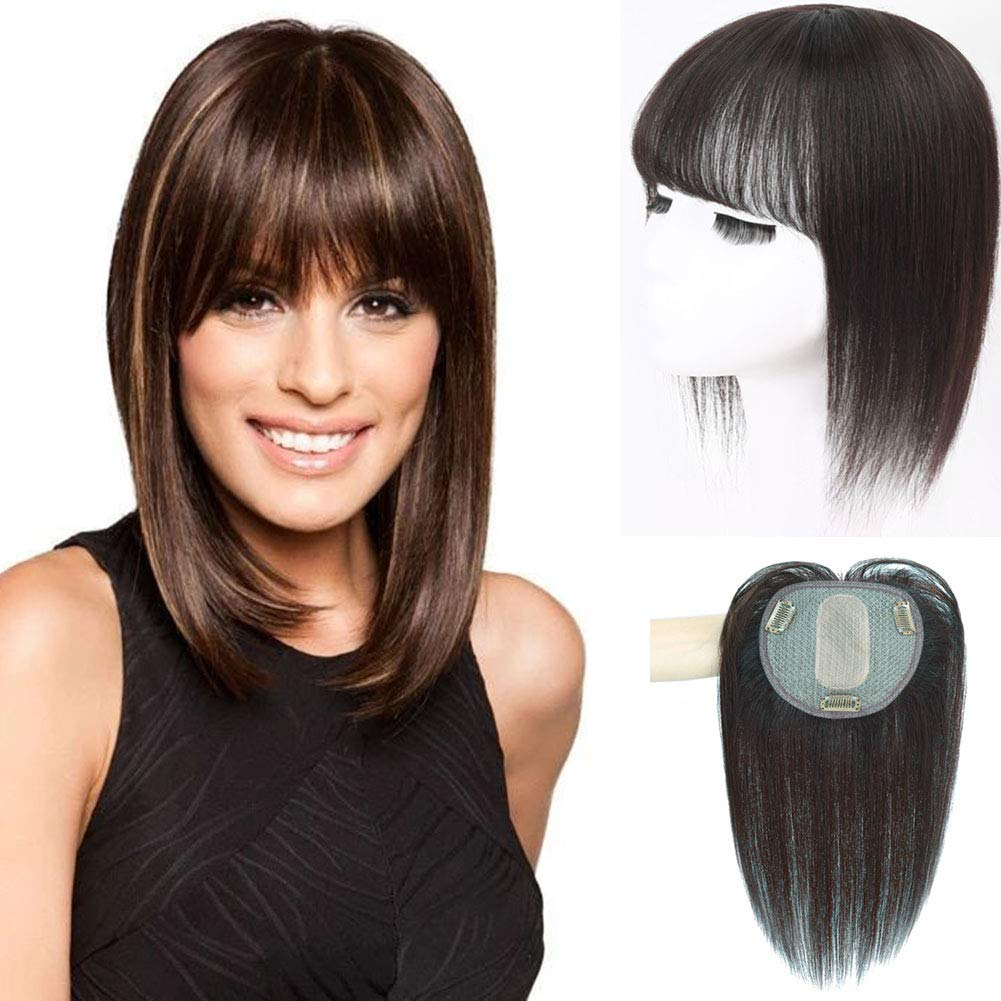 100% Human Hair Virginia Beach Mall Straiht Crown Base Replacement Clip Silk T-Shape Sale Special Price