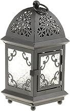 MagiDeal 4 Colors Pick Retro Lighthouse-Shaped Candle Holder Tealight Holder Wedding Tabletop Decor - Black, 10x21cm