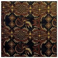 バティック-006 インドネシアのろうけつ染め アジアン雑貨 布 更紗 さらさ マルチカバー