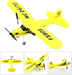 Ceepko Glider Plane, Remote Control Model Toy, 2.4G Two-Way FX803 RC Plane EPP Fixed Wing Aircraft, Glider Airplanes for Kids Party Favors, Adults Outdoor Sport Game Toys, Best Birthday Gift