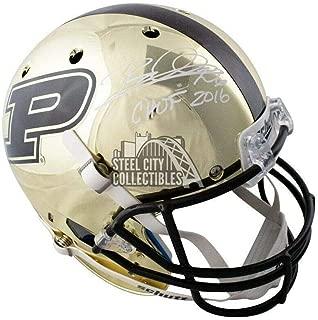 Rod Woodson CHOF 2016 Autographed Purdue Chrome Full-Size Football Helmet - JSA Certified - Autographed College Helmets