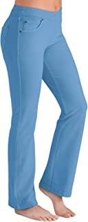 PajamaJeans Women's Bootcut Stretch Knit Denim Jeans