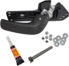 Drivers Inside Door Handle Repair Kit for 07-13 Silverado Sierra 14 2500/3500 Pickup Truck (EXCLUDING SLT/LTZ) 15936893 20833606 20871488