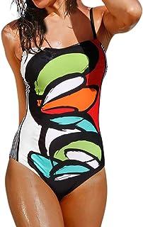 SHOBDW 2020 Moda Mujer De Una Pieza De Traje De Baño Push-Up Bra De Impresión Baño Bañador Traje Bikini Bañadores De Mujer Tallas Grandes