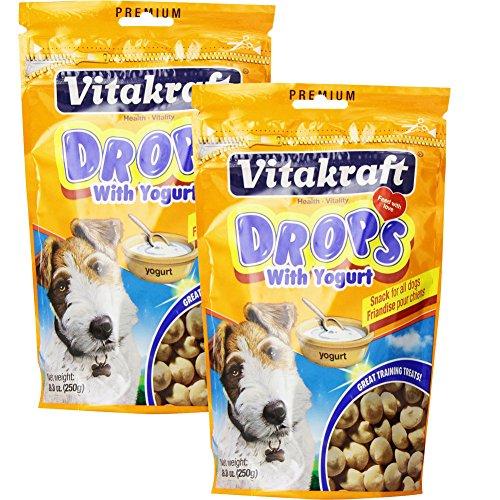 (2 Pack) Vitakraft Yogurt Drops 8.8 Ounces each
