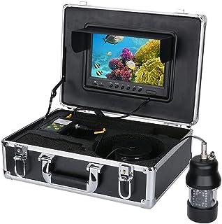 GRXXX Cámara subacuática Submarino HD Submarino HD de 9 Pulgadas TFT Pantalla CCD, función de grabación DVR 700 TVL Kit de...