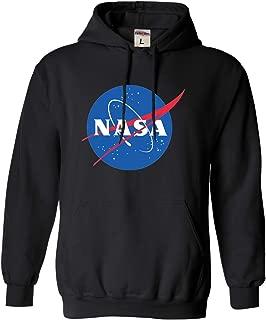 Adult Blue NASA Logo Sweatshirt Hoodie