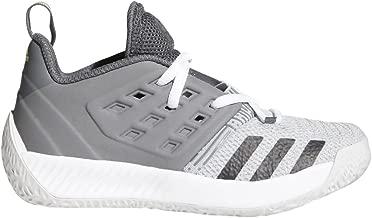 adidas Kid's Preschool Harden vol. 2 Basketball Shoes (Grey/Black/White, 12K)