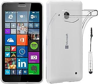 c489a82501c ebestStar - Funda Microsoft Lumia 640 LTE Dual Carcasa Silicona, Protección  Crystal Clear TPU Gel
