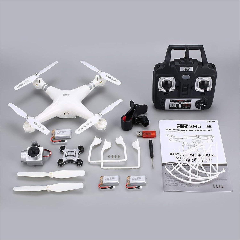 Precio por piso HONZIRY SH5H 2.4G FPV Drone RC Quadcopter con 3 baterías baterías baterías 1080P Gran Angular WiFi Cámara HD Altitud de Video en Vivo Mantener Modo sin Cabeza (Color  blancoo) -1  grandes ofertas