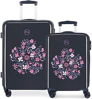 Roll Road Spring Luggage Set 67 centimeters 100.5 Multicolour (Multicolor)