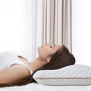 BedStory Oreiller à Mémoire de Forme Amélioré avec Gel Respirant, Oreiller Anti ronflement 60x40x13cm avec Housse Anti-aca...
