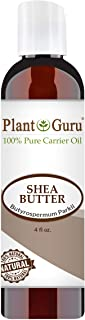 African Shea Butter Oil 4 oz. 100% Pure Natural Skin, Body And Hair Moisturizer. DIY Butters, Lotion, Cream, lip Balm & So...
