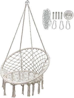 Striped Rosewater Lumbar Pillow Swing Black Wicker Novogratz 87059BPW1E Poolside Collection Sally Patio Hanging