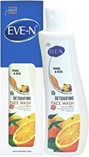 EVE-N Orange & Neem Detoxifing Face Wash 200 ml (Pack OF 100ml*2)
