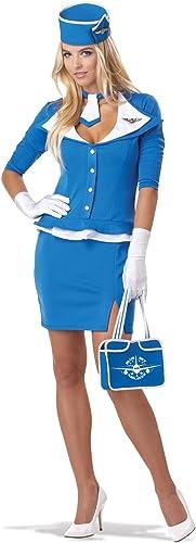 Entrega rápida y envío gratis en todos los pedidos. Retro Stewardess Stewardess Stewardess Halloween Costume For Adults All Tallas  colores increíbles
